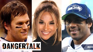 Russell Wilson calls out Ciara for cheering on Tom Brady instead of him before marriage | DangerTalk