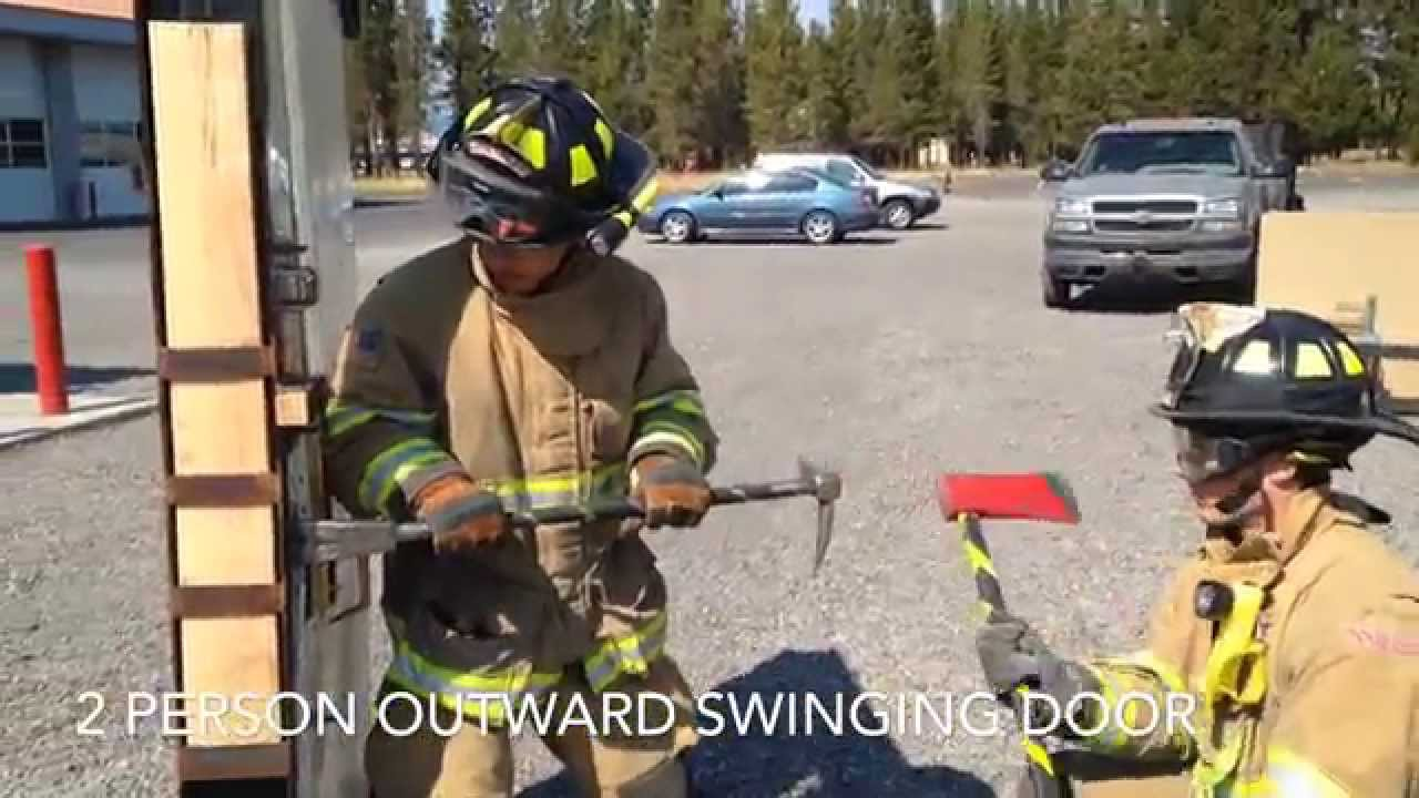 Forcible Entry Training Outward Swinging Door 2 Youtube