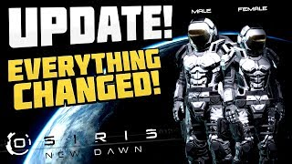 osiris New Dawn - EVERYTHING HAS CHANGED! Update! New Items, UI, & More! - Osiris New Dawn Gameplay