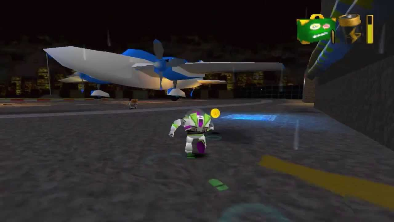 Toy Story 2 Walkthrough Level 14 Tarmac Trouble Hd