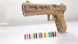 Güzel Tasarım Nasıl | Karton Silah Yapmak İçin
