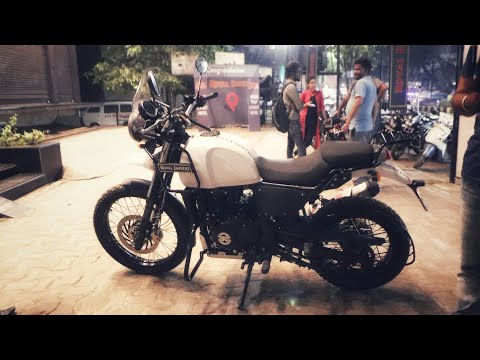 TAKING DELIVERY OF Royal Enfield HIMALAYAN