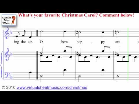 Christmas Sheet Music, Carols and Songs - Jingle Bells, Silent Night and more