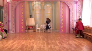 Танец золушки с цветком - детский сад Солнышко