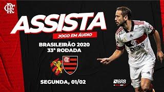 Sport x Flamengo AO VIVO na Fla TV   Brasileirão 2020