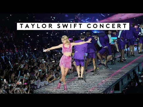 TAYLOR SWIFT 1989 IN SINGAPORE Vlog | Titan Tyra