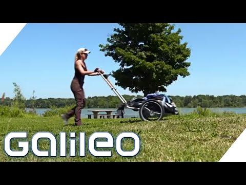 Diese Frau Läuft Zu Fuß Um Die Welt! | Galileo | ProSieben