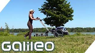 Diese Frau läuft zu Fuß um die Welt!   Galileo   ProSieben