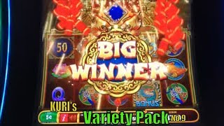 ★SUPER BIG WIN☆KURI Slot's VARIETY PACK 9☆FUN & WIN★Kitty Glitter/Golden Charms/Can Can/Sahara GD☆彡