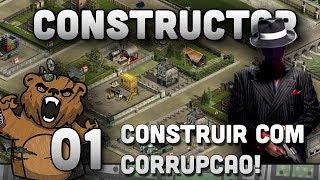 """Constructor HD #01 """"Construção caótica!"""" - Vamos Jogar Constructor Gameplay Português PTBR"""