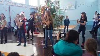 Танец  на Новый год