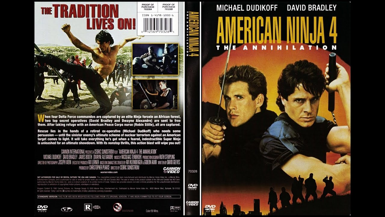 American Ninja 4: The Annihilation (1990) Movie Review aka Epic Rant