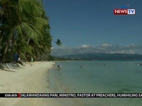 SONA: Muling pagbubukas ng Boracay sa publiko, target na gawin sa Oct. 26