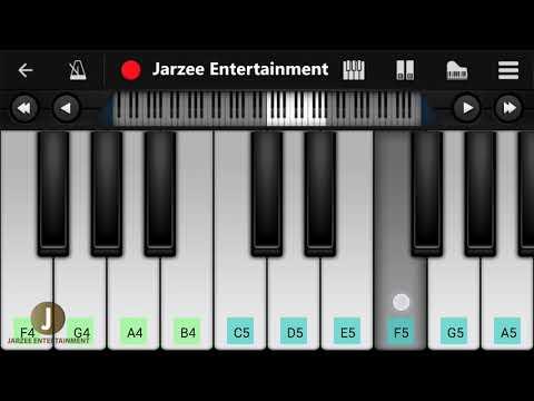 Tera Yaar Hoon Main Piano (Arijit Singh) - Easy Mobile Perfect Piano Tutorial