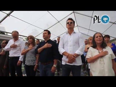 Ricardo Arjona inauguró su segunda escuela en Guatemala