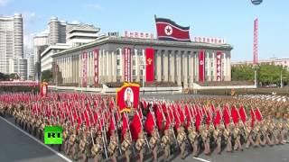 В Пхеньяне состоялся парад по случаю 70-летия Трудовой партии Кореи