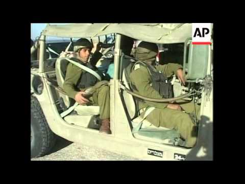 Israeli Strengthens Presence Along Border With Egypt