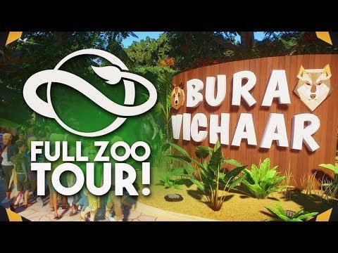 FULL ZOO TOUR | Planet Zoo Tour (Franchise Mode)