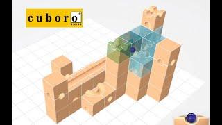Физическая и виртуальная (webkit) сборка модели cuboro