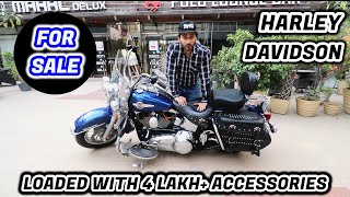 HARLEY DAVIDSON SOFTAIL HERITAGE AT HALF PRICE | SUPERBIKE FOR SALE | BORN CREATOR