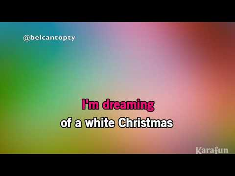 WHITE CHRISTMAS KARAOKE / Michael Buble & Shania Twain