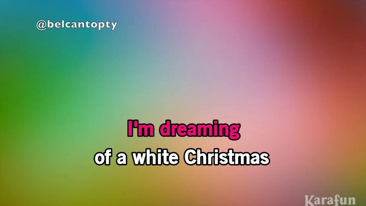 WHITE CHRISTMAS KARAOKE / Michael Buble & Shania Twain - YouTube