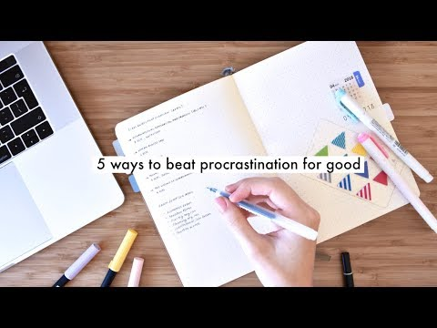 HOW TO STOP PROCRASTINATING FOREVER » 5 productivity tips
