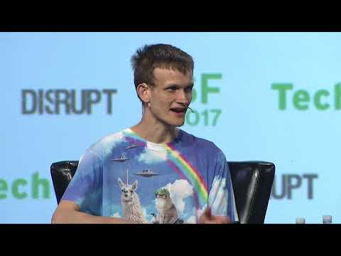Vitalik Buterin describes Ethereum in his own words | Disrupt SF 2017