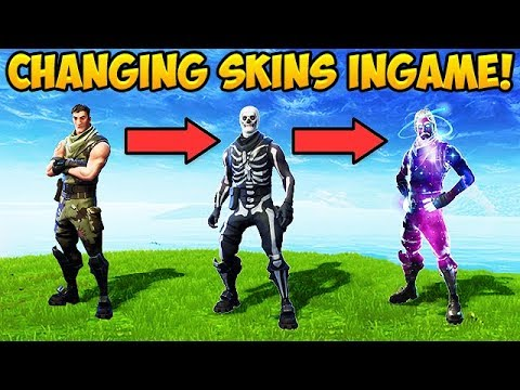CHANGING SKINS IN-GAME? - Fortnite Funny Fails and WTF Moments! #294