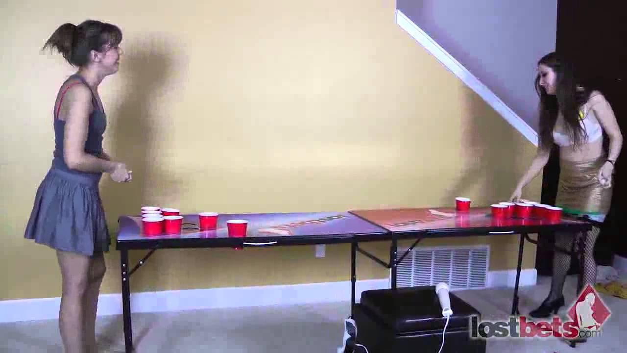 Strip pong video