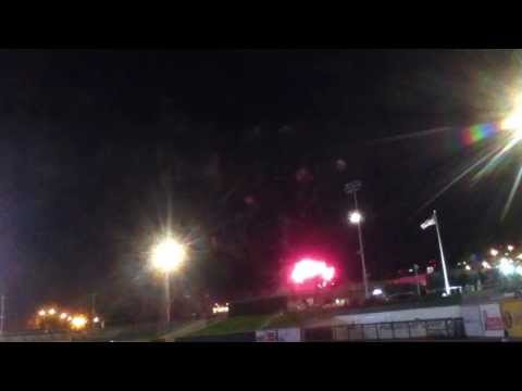 Birmingham Barons Fireworks