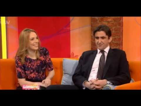 Laura Main  on Lorraine : Call The Midwife