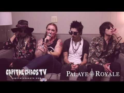 Palaye Royale Interviewed @ Vans Warped...