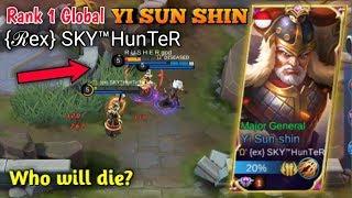 TOP 1 GLOBAL YI SUN SHIN - Mobile Legends