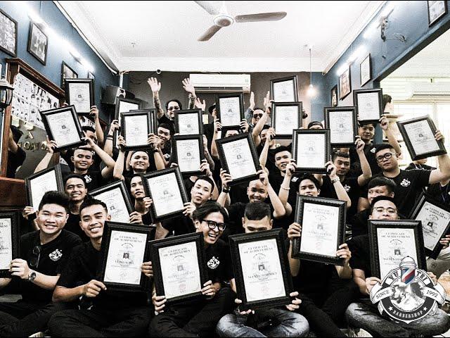 Nỗi Niềm Ngày Tốt Nghiệp Học Viên Vũ Trí Academy | Học Nghề Tóc | Trở Thành Barber