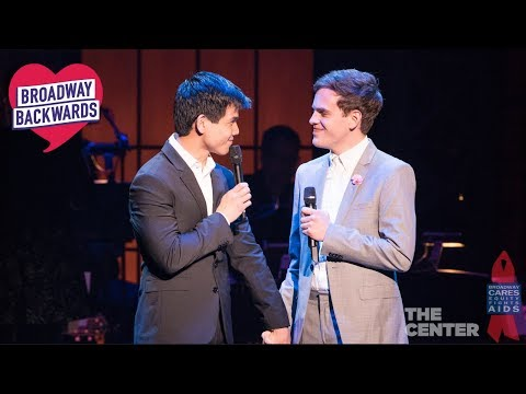 """Taylor Trensch & Telly Leung """"Who Will Love Me As I Am?"""" – Broadway Backwards 2018"""
