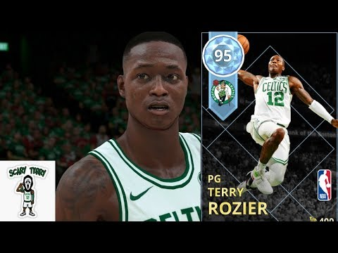 Scary Terry Rozier ! Crazy Anklebreaker! Diamond Playoffs Moments Gameplay! Nba2k18 Myteam