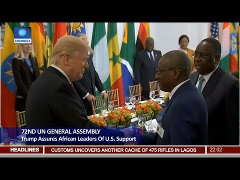 Trump Assures African Leaders Of U.S Support At 72nd UN General Assembly Pt 1 | News@10 |