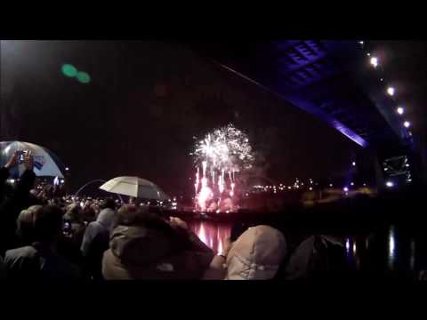 Newcastle Fireworks 2017