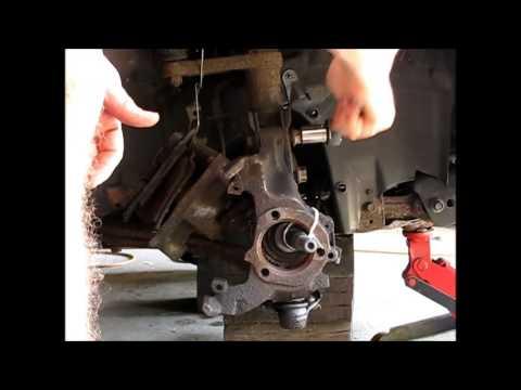 Replacing the CV axle on a 1997 GM Pontiac Grand AM Alero ...