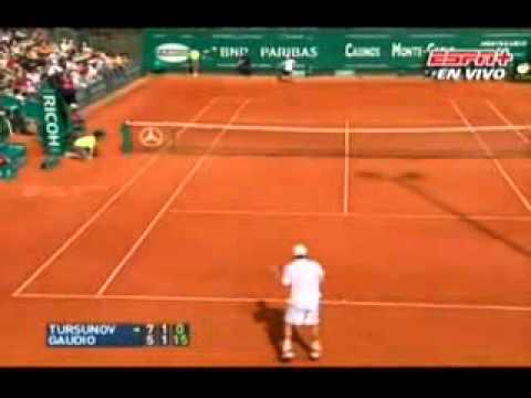 Gastón Gaudio vs. Dmitry Tursunov.avi