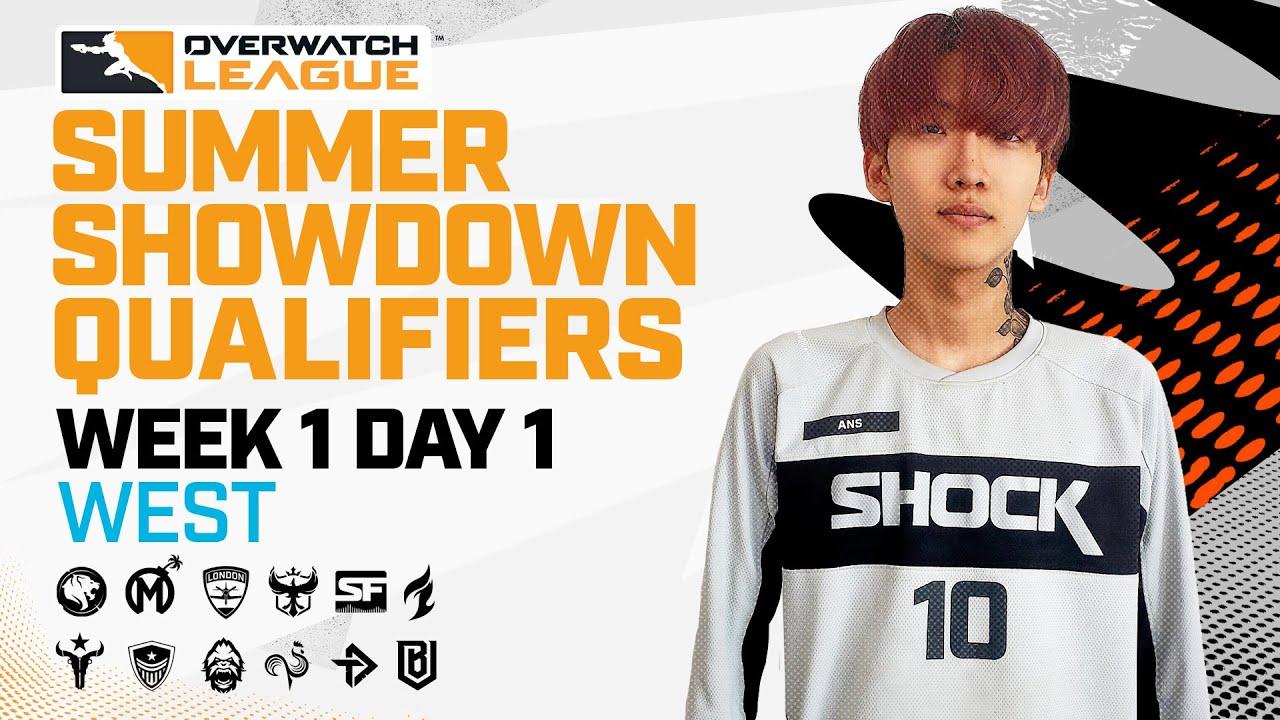Overwatch League 2021 Season | Summer Showdown Qualifiers | Week 1 Day 1 — West