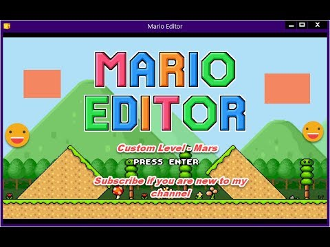Mario Editor - Play Game Online