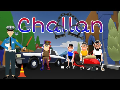 CHALLAN  new traffic rules  thereality  TR