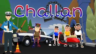 CHALLAN |new traffic rules |thereality |TR