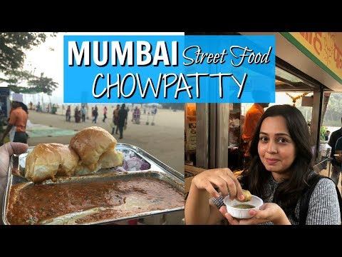 Mumbai Street Food | Chowpatty Pav Bhaji Bhelpuri | Indian Street Food