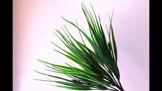 Декоративные листья . Трава из Китая . Распаковка посылки . ОБЗОР