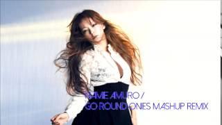 安室奈美恵 / Go Roundのマッシュアップです.