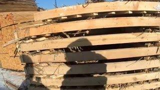 МПС Алматы. Рынок Кенжехан. Ненавязчивый продавец леса.