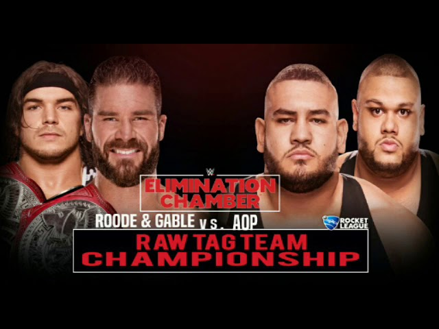 WWE Elimination Chamber 2019 Dream Match Card #1